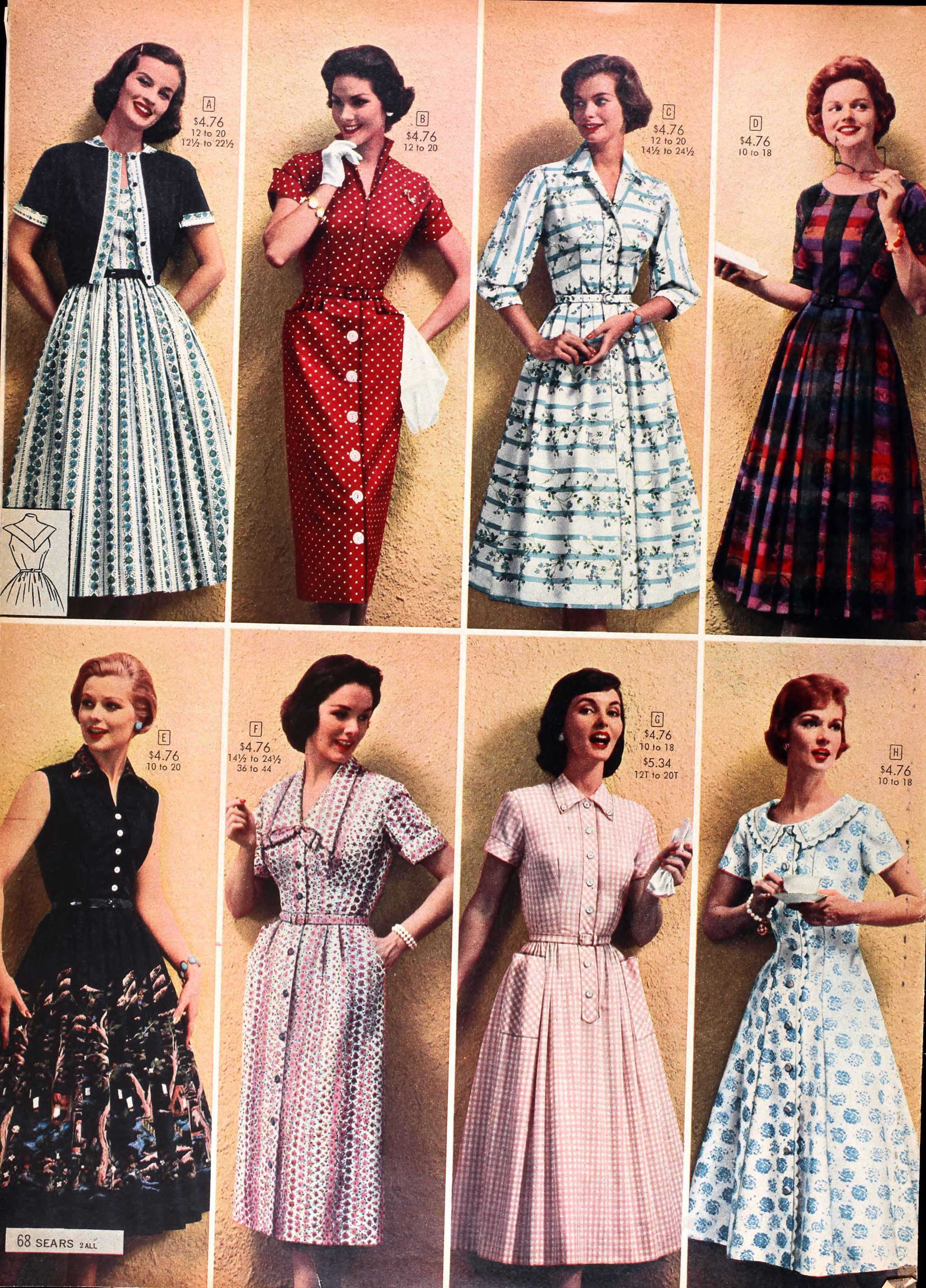 From the Sears Catalog, Spring/Summer 1958