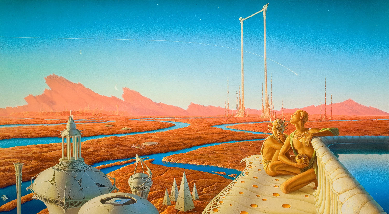 Mars in 1950