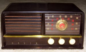 Arvin Table Radio, Model_480-TFM