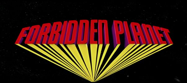 Forbidden Planet Opening Title