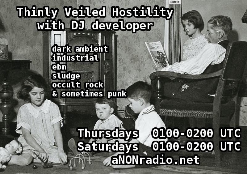 Thinly Veiled Hostility Promo Image